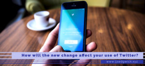 Now that media added to tweets no longer counts towards character limit, how will the changes to Twitter affect how you use the platform?