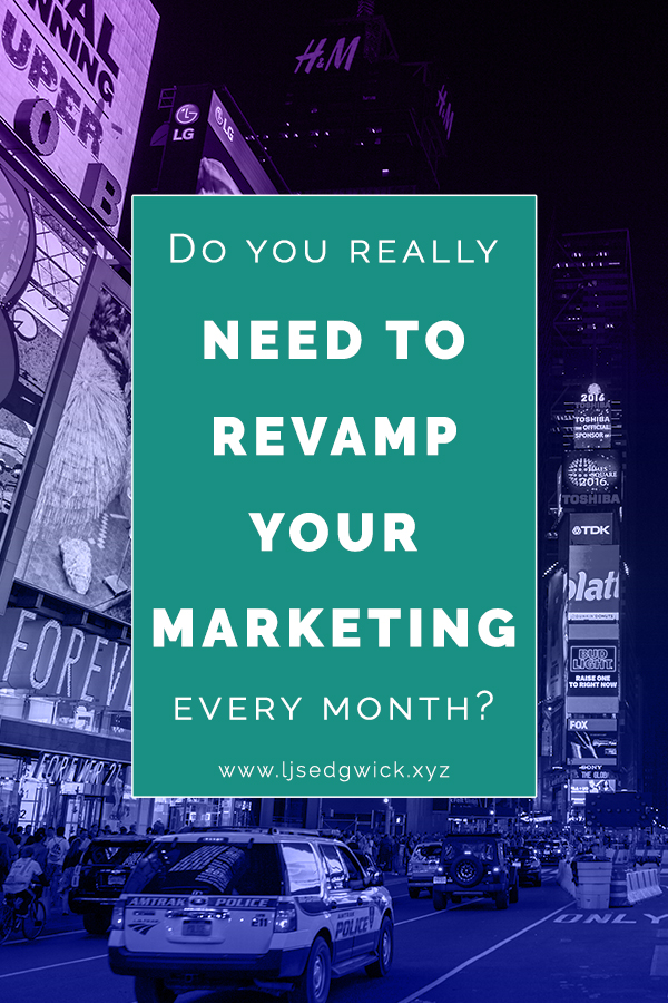"With the array of available marketing options, is it necessary to revamp your marketing every month? The success of Absolut Vodka says ""no"". Find out why!"