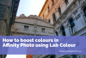 How to Boost Colours in Affinity Photo