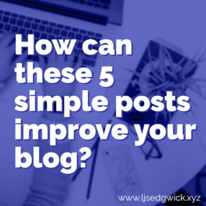 How can these 5 simple posts improve your startup's blog?