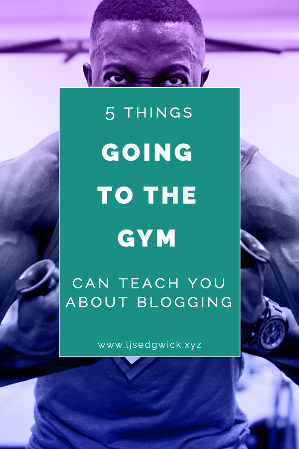 If your startup's blog is struggling, you might not think a gym habit can help. But here are 5 things you can learn from the gym to boost your blog.