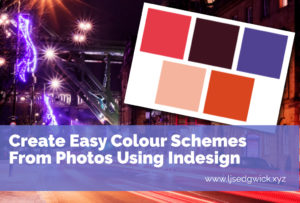 Consistent colours are a great way to build a visual brand. Learn how to create easy colour schemes from photos using InDesign in this tutorial.
